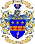 Ianneillo Family Crest from Italy