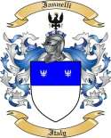 Iannelli Family Crest from Italy
