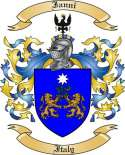 Ianni Family Coat of Arms from Italy4