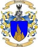 Ianniello Family Crest from Italy