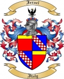 Ieraci Family Crest from Italy