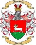 Ignaczak Family Coat of Arms from Poland