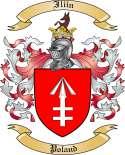 Iliin Family Crest from Poland