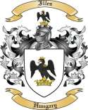 Illes Family Coat of Arms from Hungary
