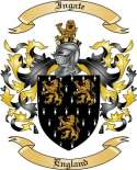 Ingate Family Crest from England