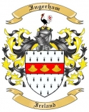 Ingerham Family Coat of Arms from Ireland