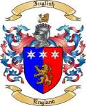 Inglish Family Crest from England