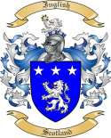 Inglish Family Crest from Scotland