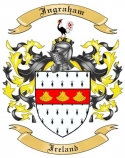 Ingraham Family Crest from Ireland