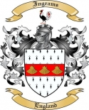 Ingrams Family Coat of Arms from England