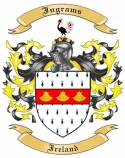 Ingrams Family Crest from Ireland