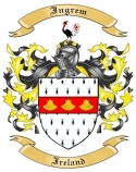 Ingrem Family Coat of Arms from Ireland