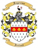Ingrome Family Crest from Ireland