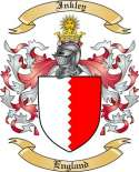 Inkley Family Coat of Arms from England2