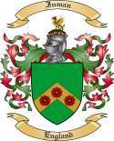 Inman Family Crest from England