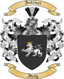 Intrieri Family Coat of Arms from Italy