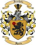 Iracheta Family Coat of Arms from Spain