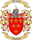 Ireland Family Crest from England