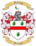 Irving Family Coat of Arms from Ireland