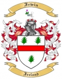 Irwin Family Coat of Arms from Ireland
