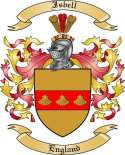 Isbell Family Crest from England