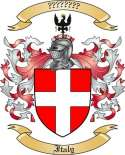 Italy Family Crest from Italy