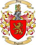 Ivey Family Crest from England