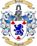 Jackett Family Crest from England