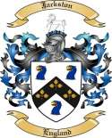Jackston Family Crest from England