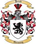 Jacob Family Crest from Germany