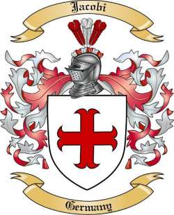 Jacobi Family Coat of Arms from Germany2