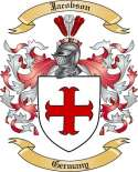 Jacobson Family Crest from Germany2