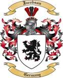 Jacobson Family Crest from Germany
