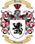 Jacoby Family Coat of Arms from Germany