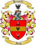 Jacopelle Family Coat of Arms from Italy