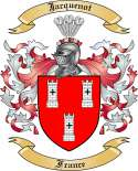 Jacquenot Family Coat of Arms from France