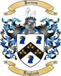 Jacson Family Crest from England