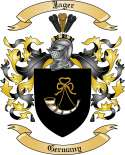Jager Family Crest from Germany (2)