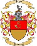 Jager Family Crest from Germany2