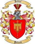 Jakiel Family Crest from Poland