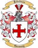 Jakobson Family Crest from Germany2