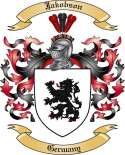 Jakobson Family Crest from Germany