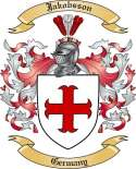 Jakobsson Family Crest from Germany2
