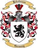 Jakobsson Family Crest from Germany