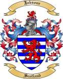 Jaksone Family Coat of Arms from Scotland