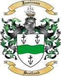 Jamieson Family Crest from Scotland