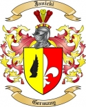 Janicki Family Crest from Germany
