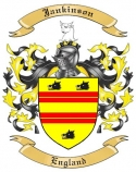 Jankinson Family Crest from England