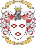 Jarnagin Family Coat of Arms from England