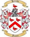 Jarrette Family Crest from France2